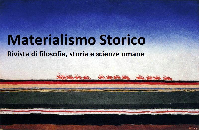 Materialismo Storico cambia. Al blog si affiancherà presto una rivista scientifica