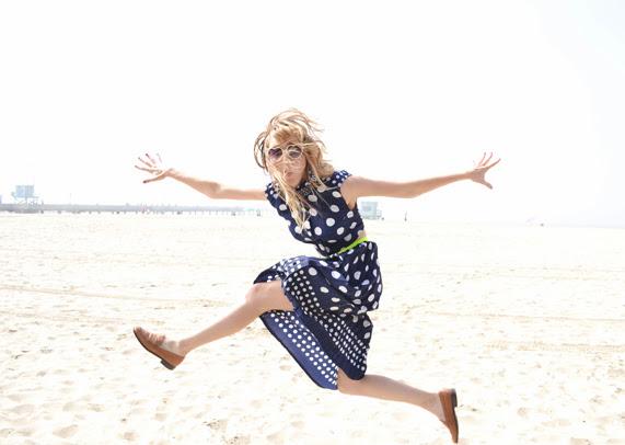 Polka Dots, Venice Beach, Spidermonkey, Jumping