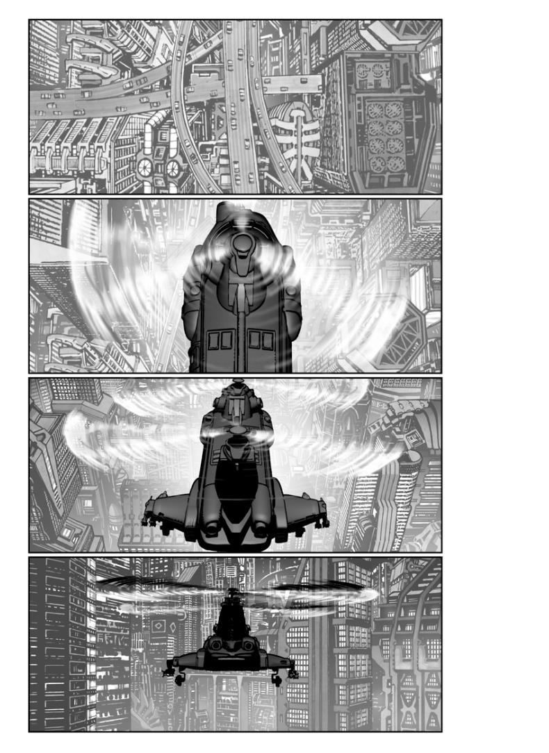 Akira%2BChopper%2B02 Akira Storyboards Showing Tetsuo Posted Online
