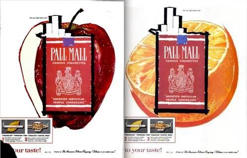iklan rokok buah-buahan