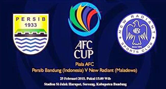 Persib Bandung vs New Radiant Piala AFC 2015