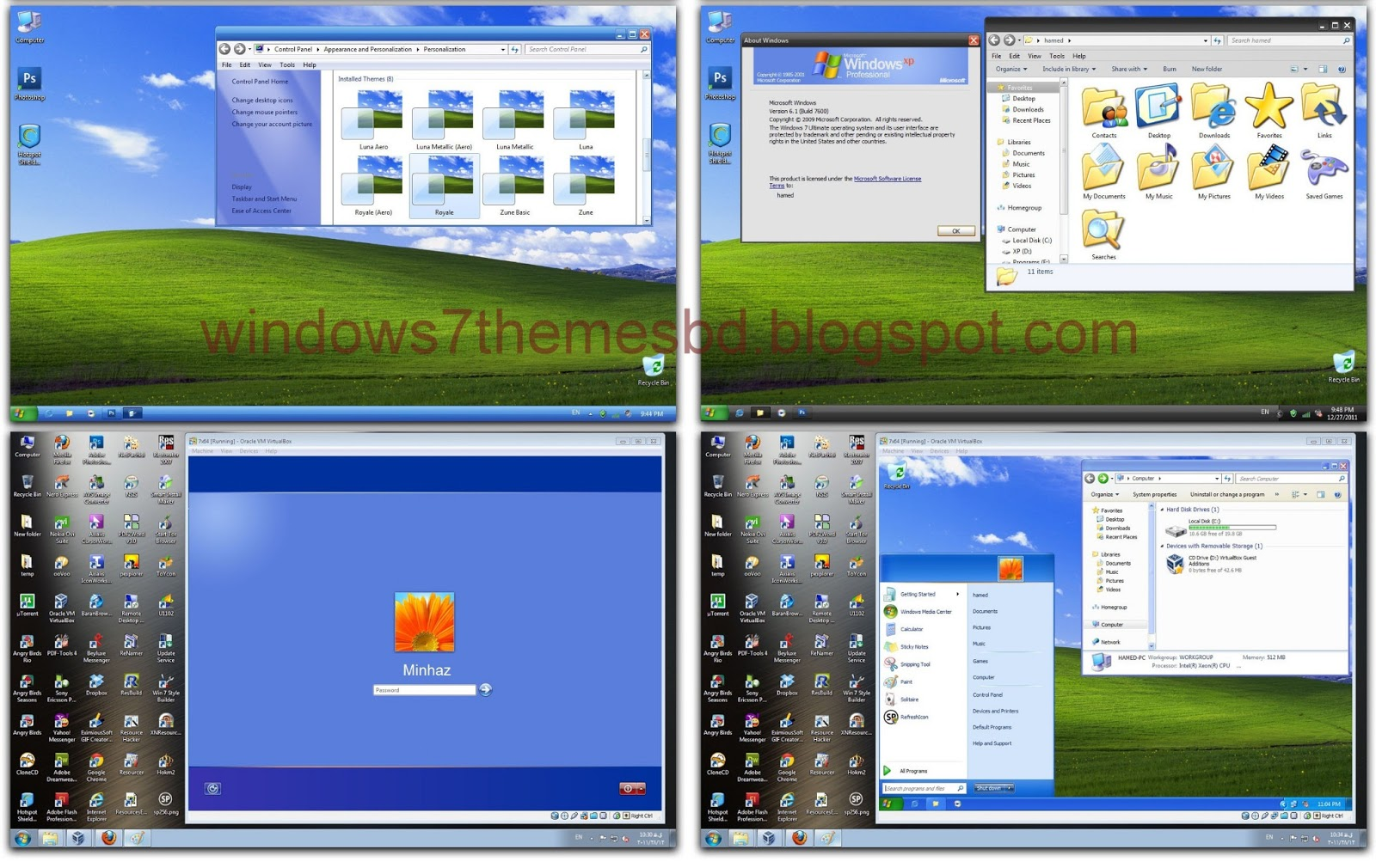 Free Windows Xp Themes And Skins