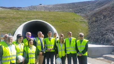 importantes avances rexistrados no gran desafío técnico que supón a construción do Ave a Galicia