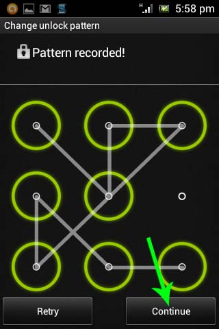 Mengganti Screen Lock Menjadi Pattern Lock (Android 4.0)