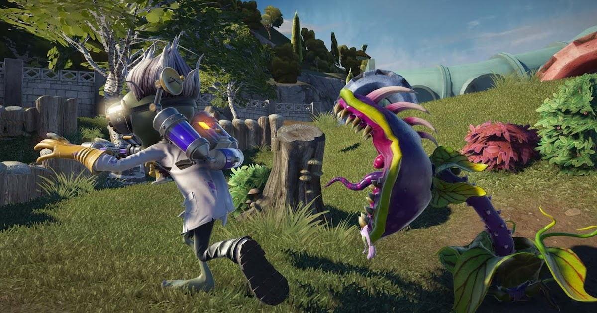 Plants Vs Zombies Garden Warfare Gameplay Risenfallrec