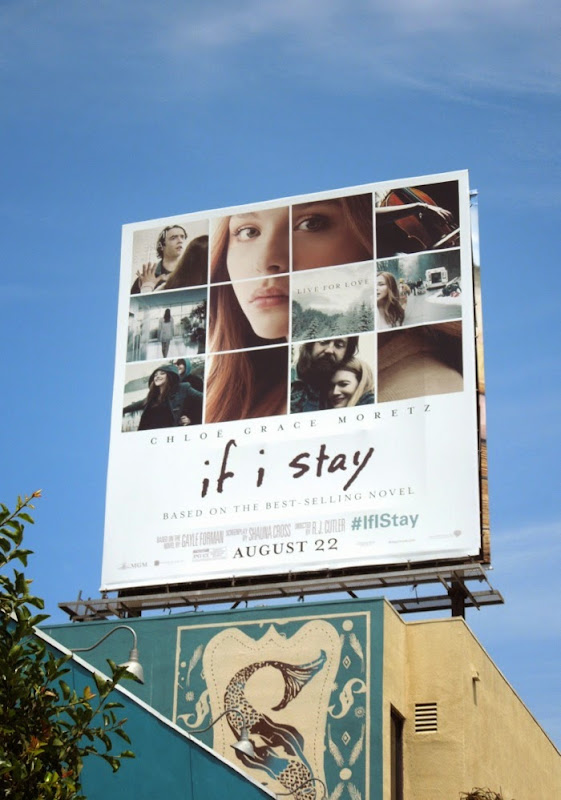 If I Stay movie billboard