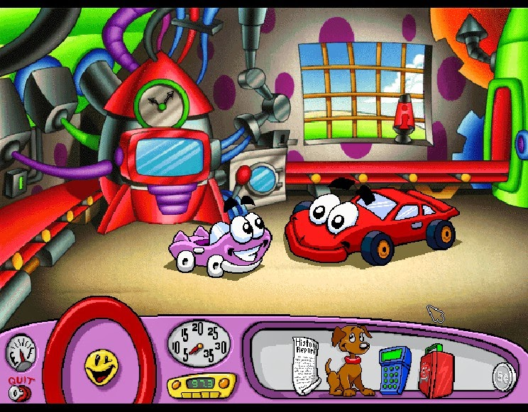 Gaming After 40: Adventure of the Week: Putt-Putt Travels ...