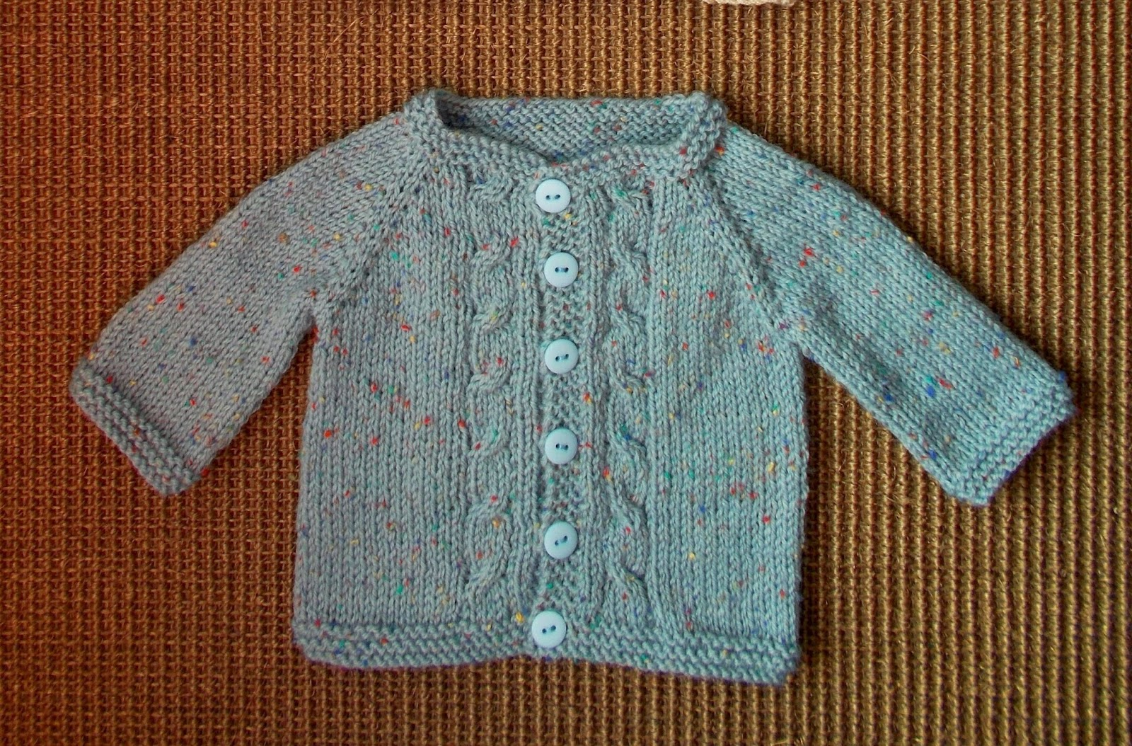 Knitting Yrn K2tog : Marianna s lazy daisy days max baby cardigan