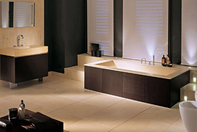 Interior and Architectural Design: Bathroom Design