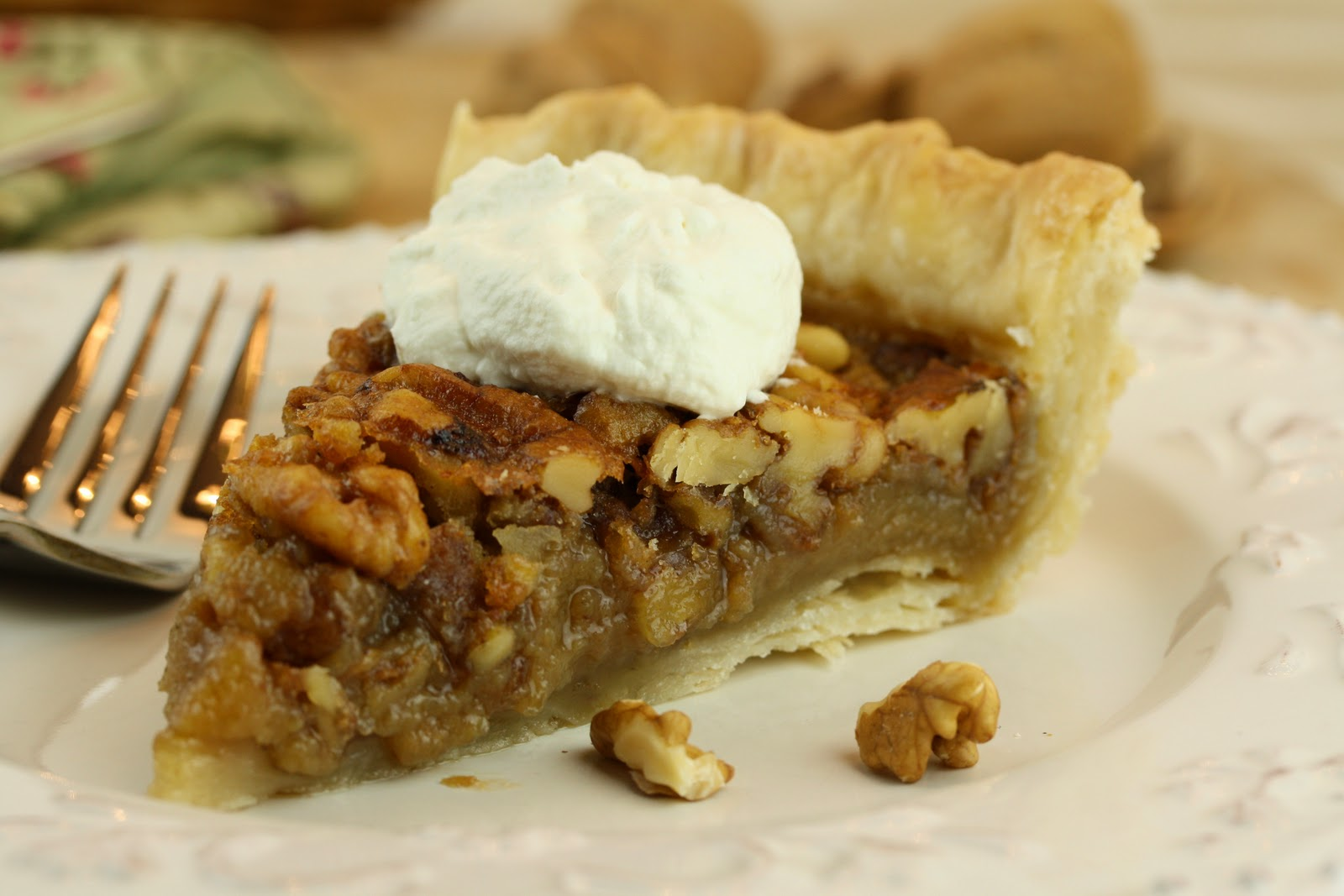 No. 49 - Maple Walnut Pie - Saving Room for Dessert