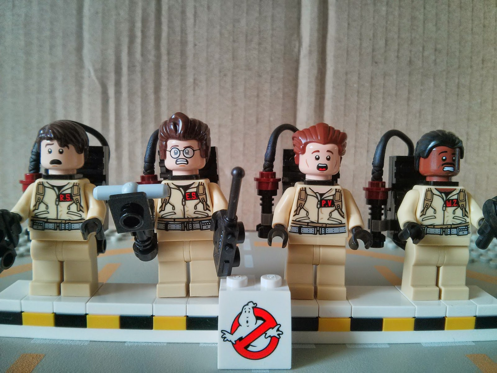 A look at the alt faces the ghostbusters have