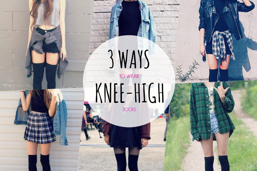 Knee high socks outfits tumblr pictures