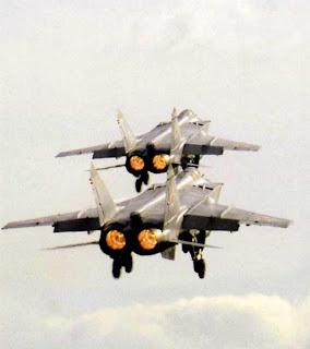Полеты в паре МиГ-31 фото