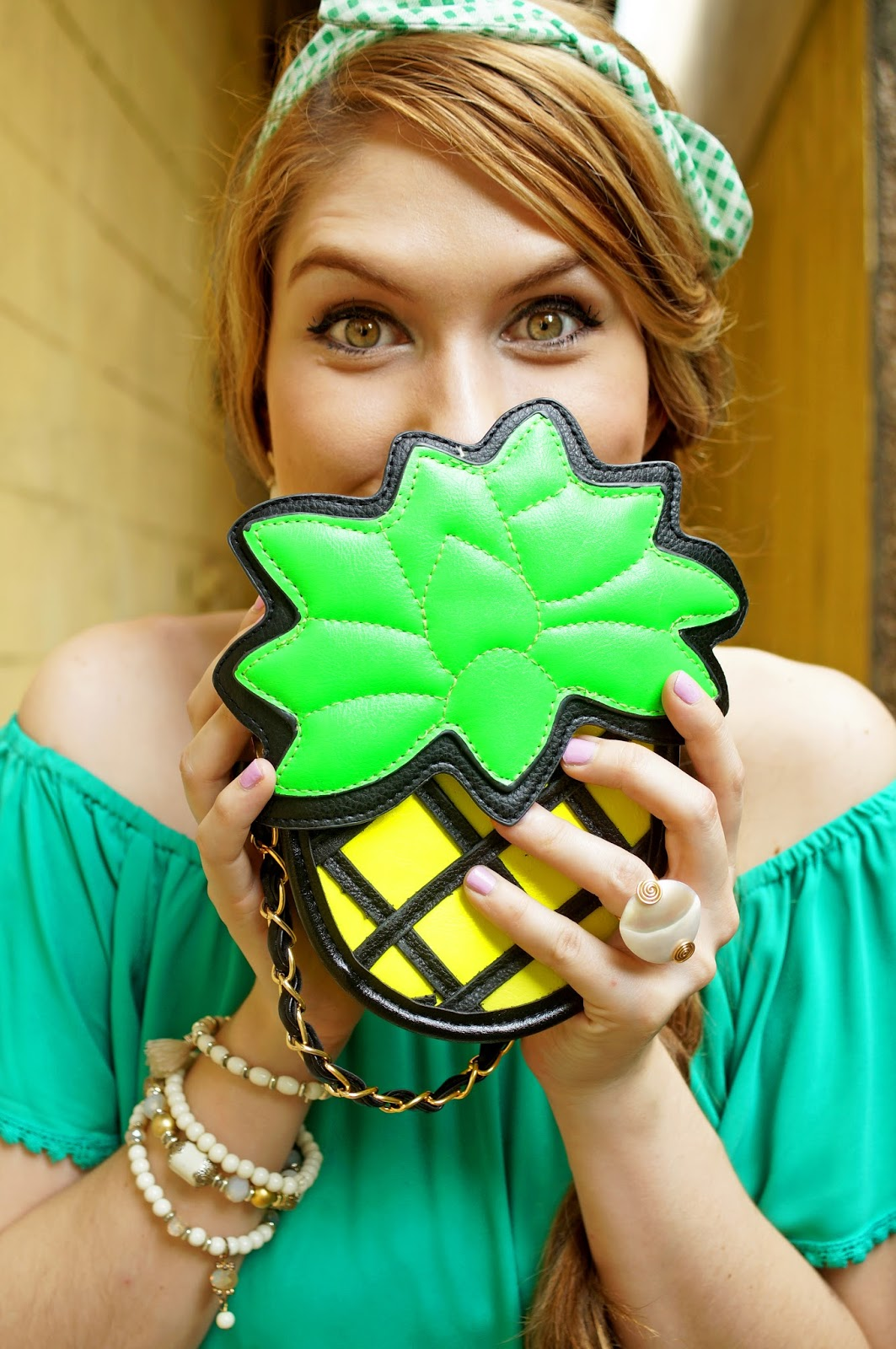 Adorable Pineapple Bag for Summer!