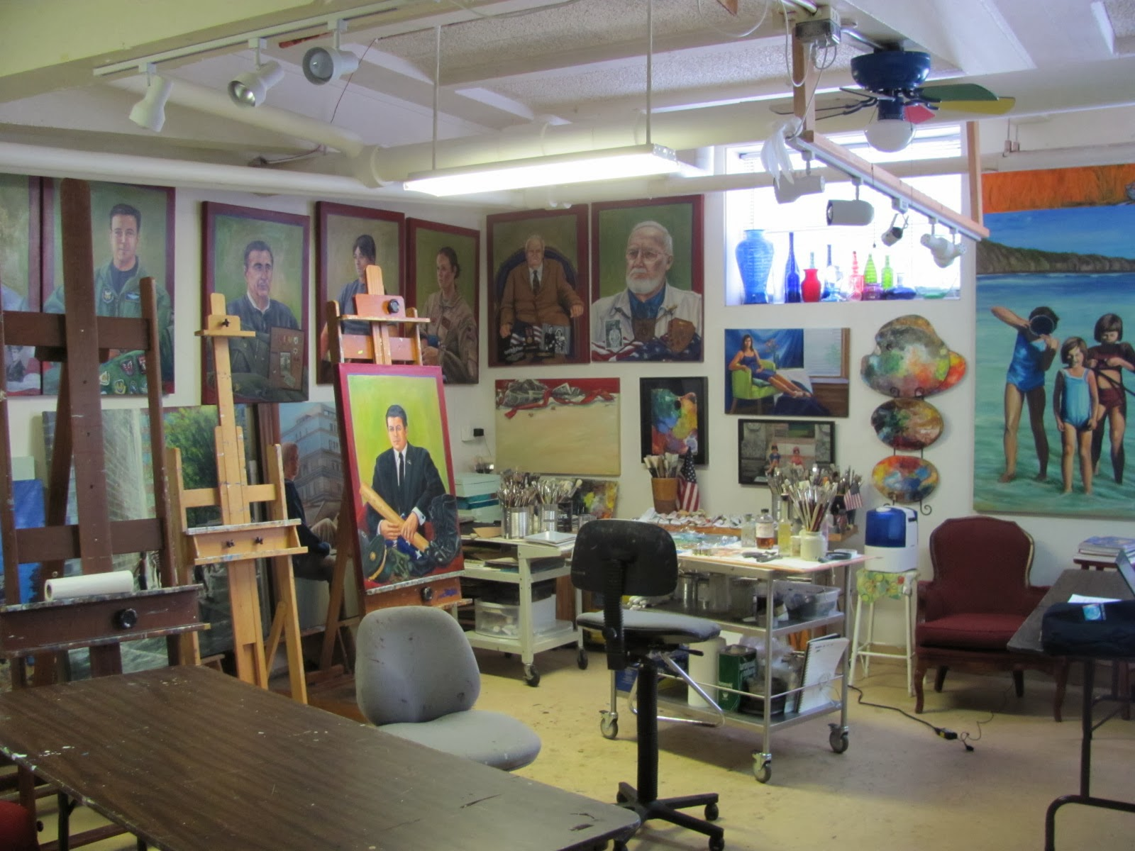 Soldner Fine Art Studio View