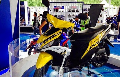 Harga Kredit Motor Yamaha Mio M3 Blue Core Terbaru 2015