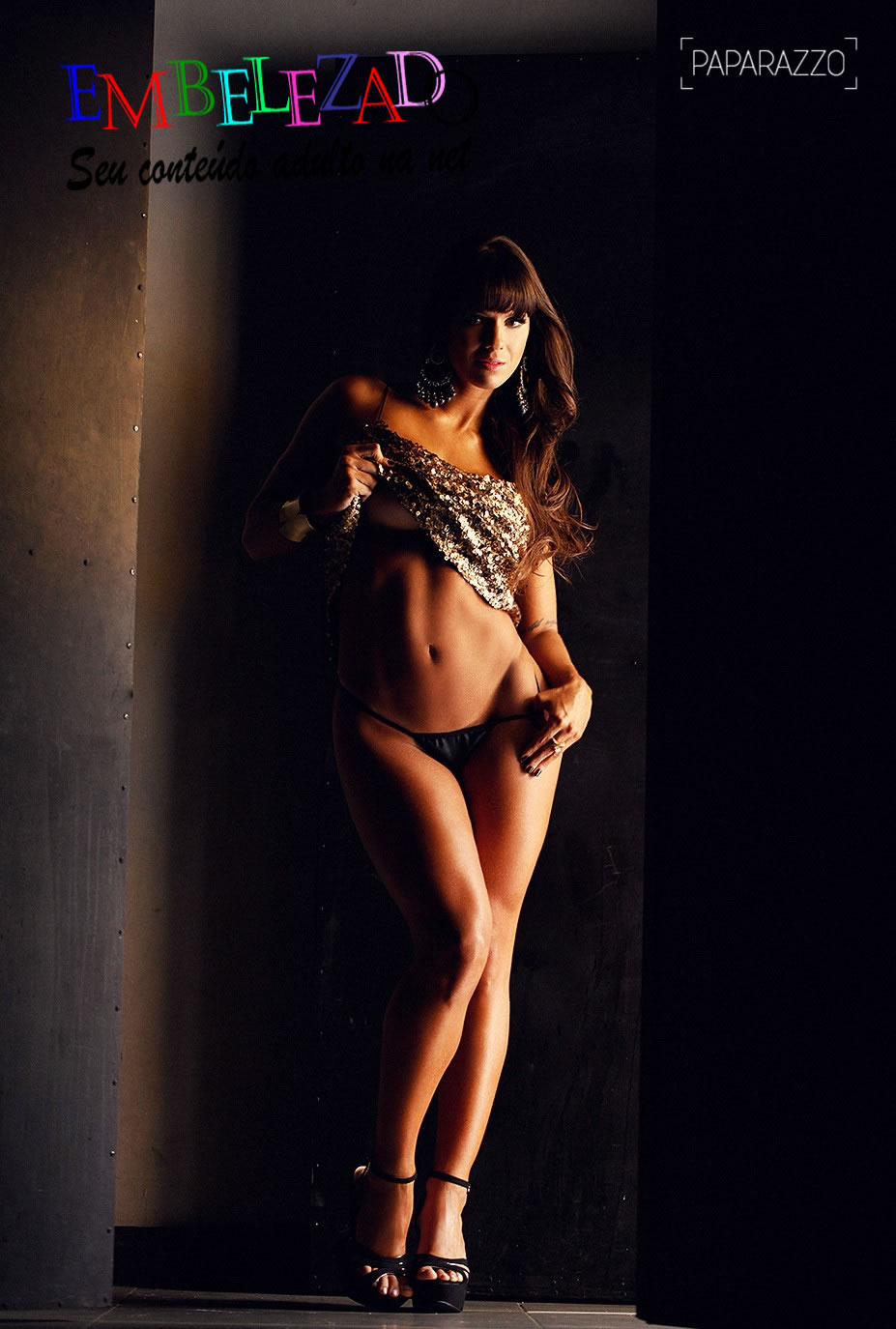 As Fotos Da Panicat Carol Dias Pelada Na Revista Sey Ring Girs