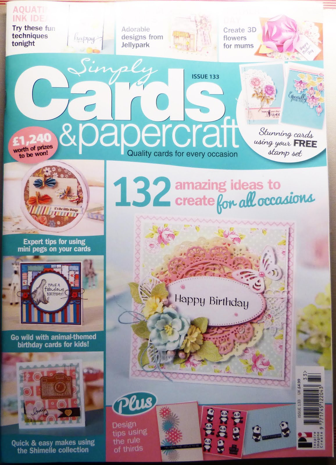 Published Simply Cards & Papercrafts Issue 133