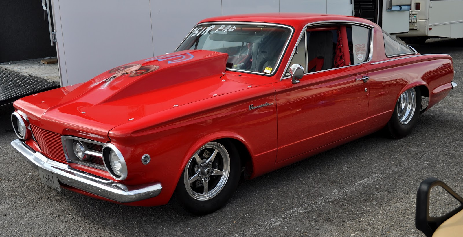 Just A Car Guy 1964 Barracuda Upgraded With A 340 For Serious Drag Racing Found At The Las