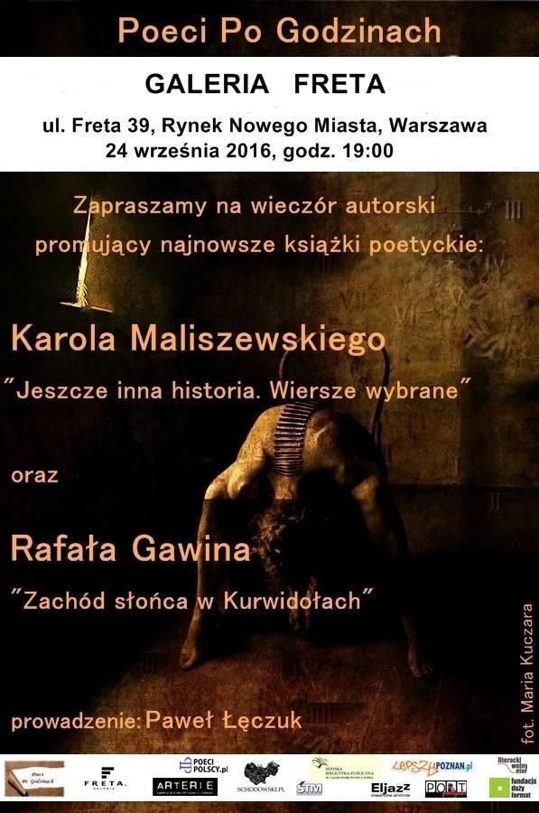 Rafał Gawin czyta wiersz