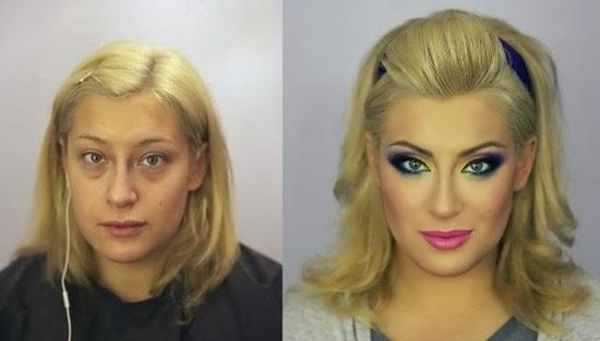 Maquiagem russa - O milagre das mulheres feias