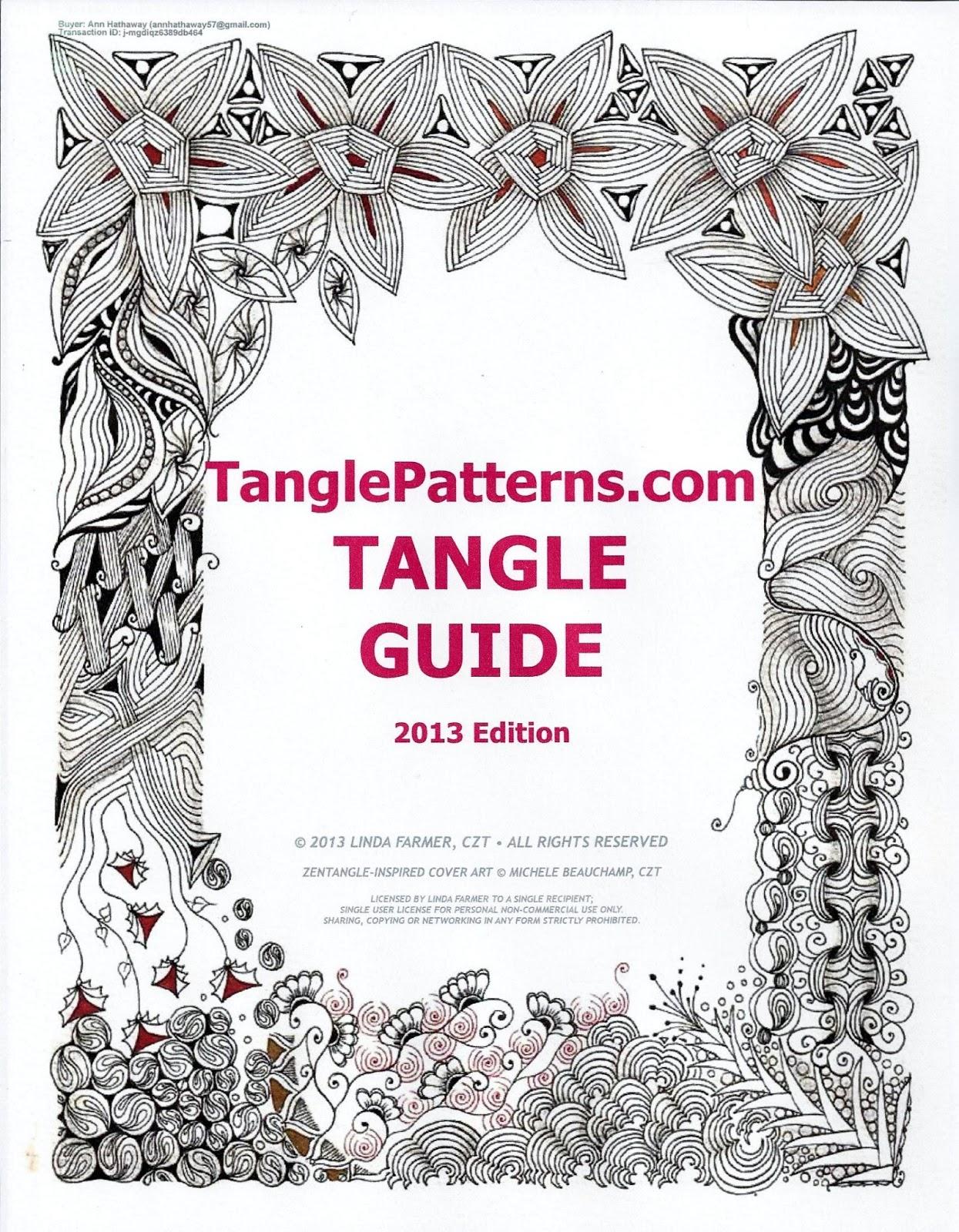 Tangle Patterns Cool Decorating Design
