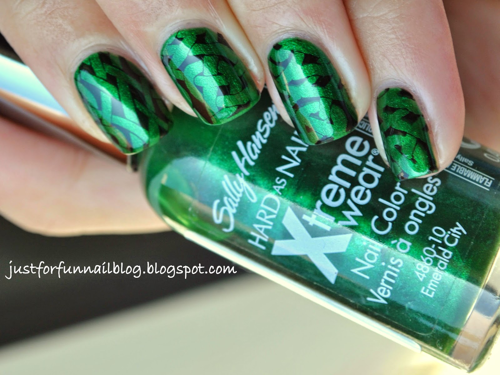 St. Patrick's Day Design with Sally Hansen - Emerald City