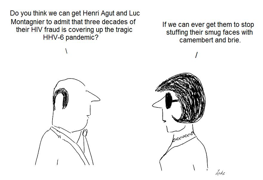 henri agut, luc montgnier, hiv, hhv-6, fraud, gallo, julian lake, cover-up, cdc, pastuer institute
