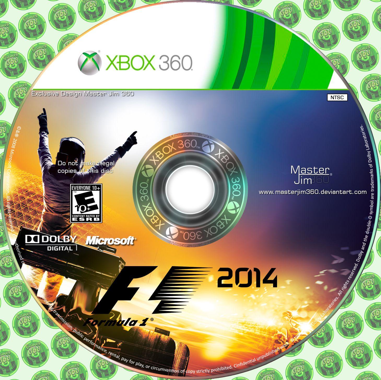 Label Formula 1 2014 Xbox 360