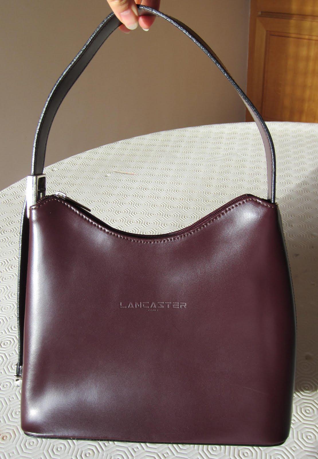 sac discount vide dressing  Flora : LANCASTER - Sac à main cuir