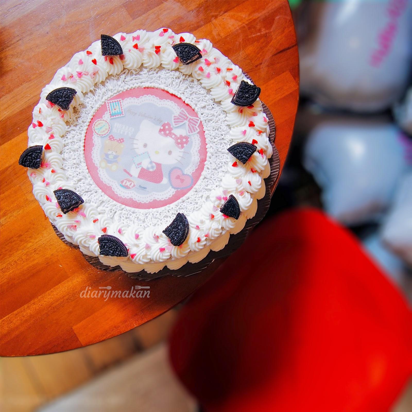 Dairy Queen Ice Cream Cake Hello Kitty