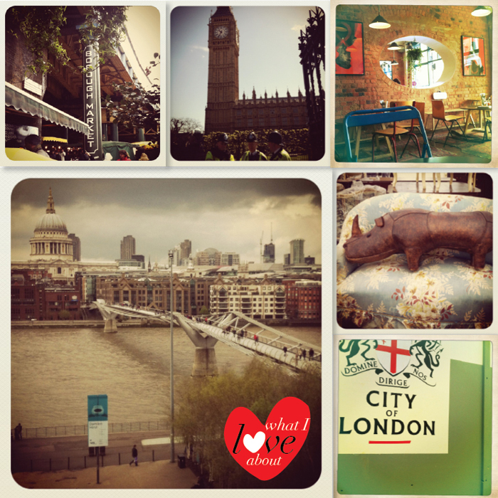 London photo collage