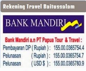 Rekening Travel Baitussalam