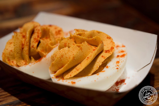 image of Deviled eggs at  Hill Country in NYC, New York
