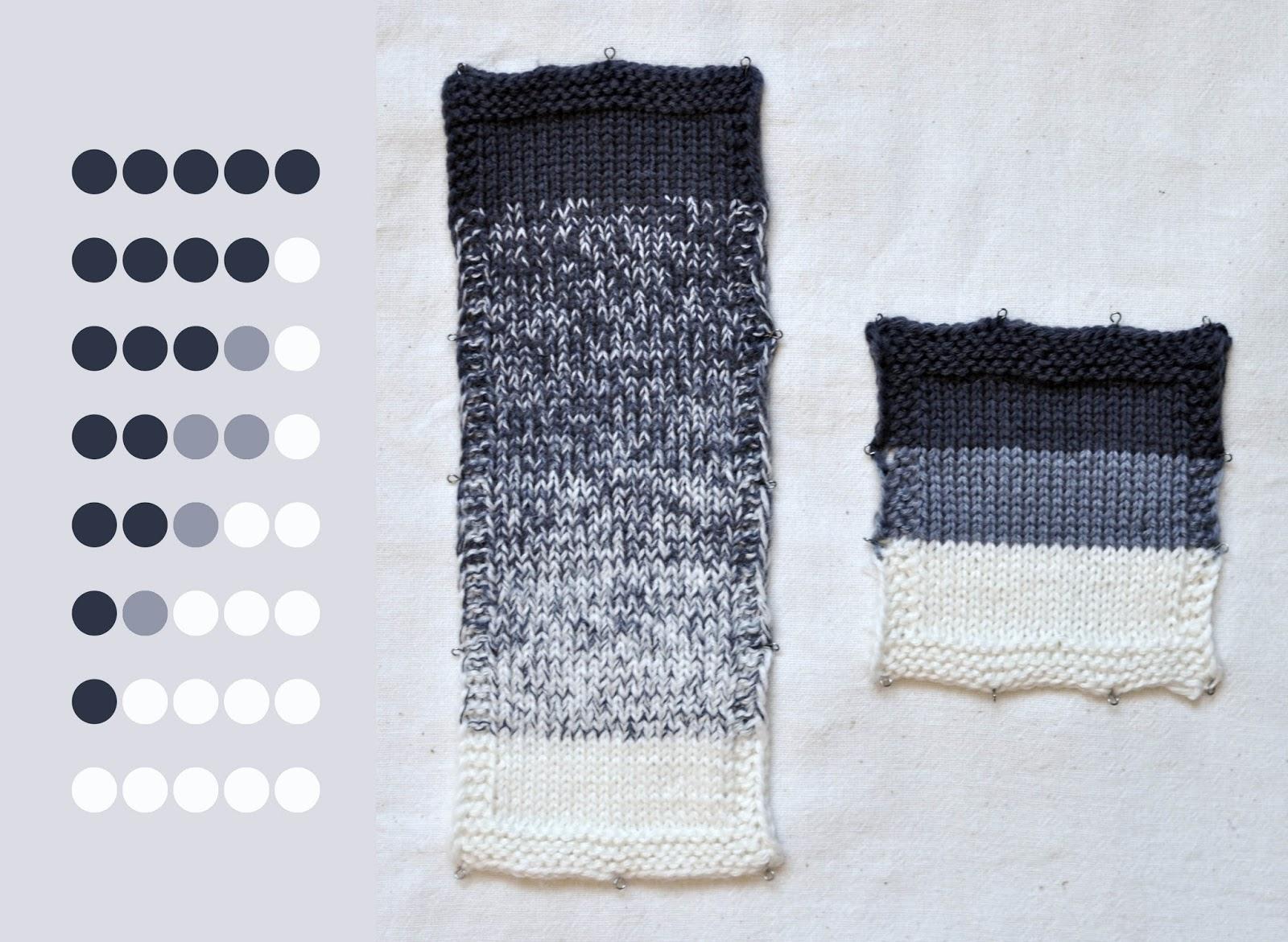 Как поменять цвет нити в вязании спицами 22