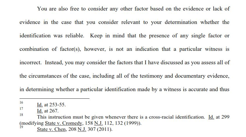 Tillers On Evidence And Inference July 2012 Nj Jury Instructions On