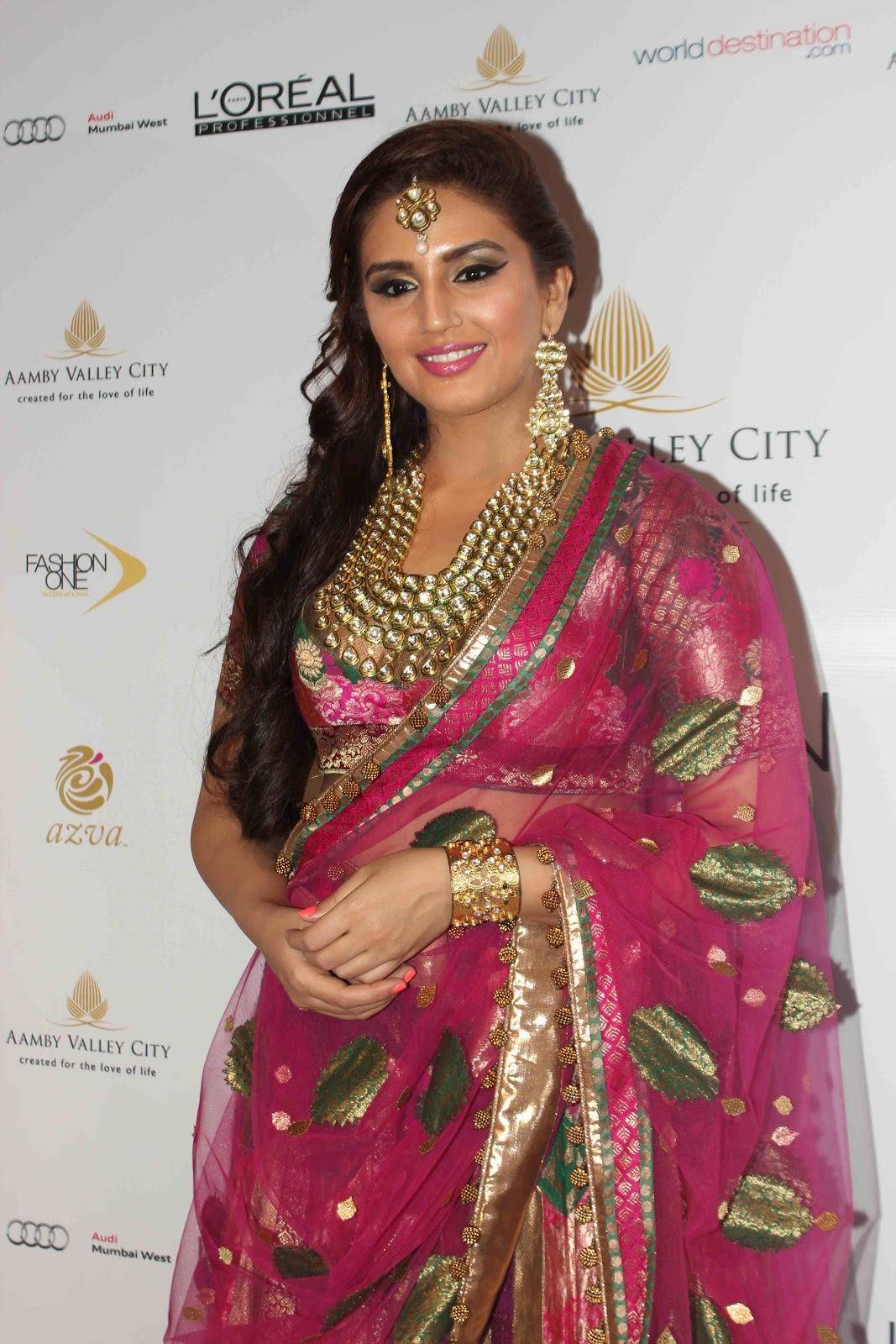 HD Images of Huma Qureshi at India Bridal Fashion Week (IBFW) Aamby Valley