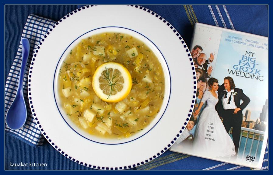 Kahakai Kitchen: Greek-Inspired Potato-Leek Soup with Lemon and Dill ...