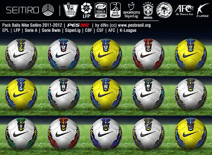 Nike Seitiro Balls - PES 2012