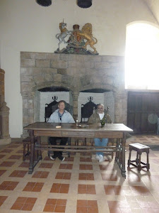 At the High Table, Doune Castle