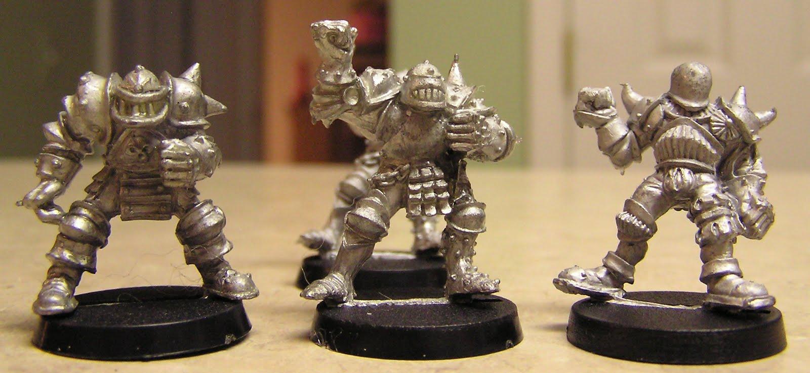 Blood Bowl  Chaos Dwarves Build