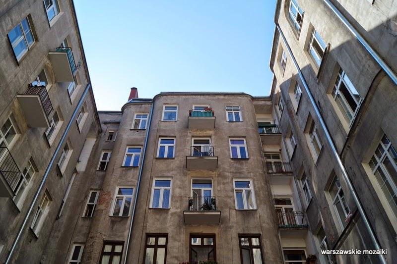 kamienica Praga podwórko