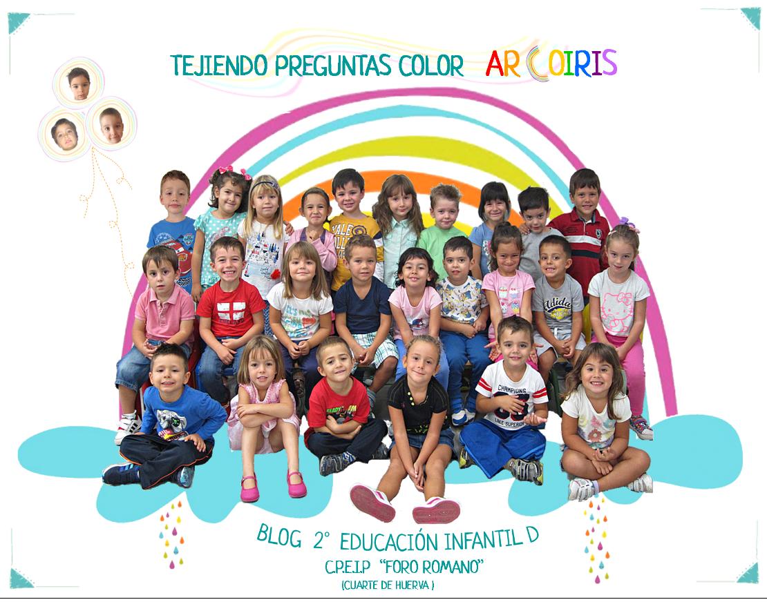 Tejiendo preguntas color arcoiris