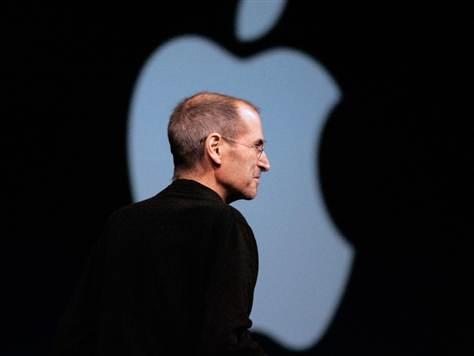 apple logo steve jobs