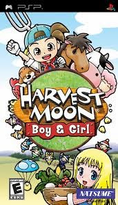 Harvest Moon - Boy & Girl - PSP - ISO Download