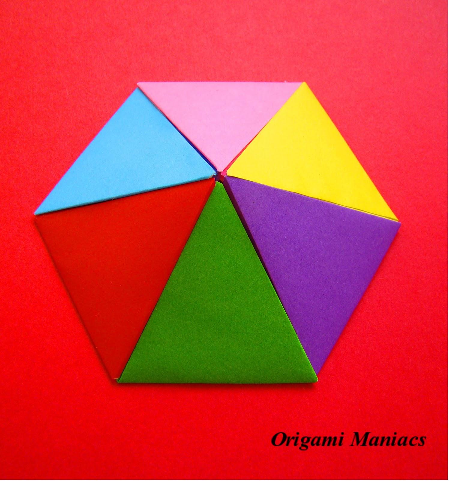 origami maniacs origami pyramids
