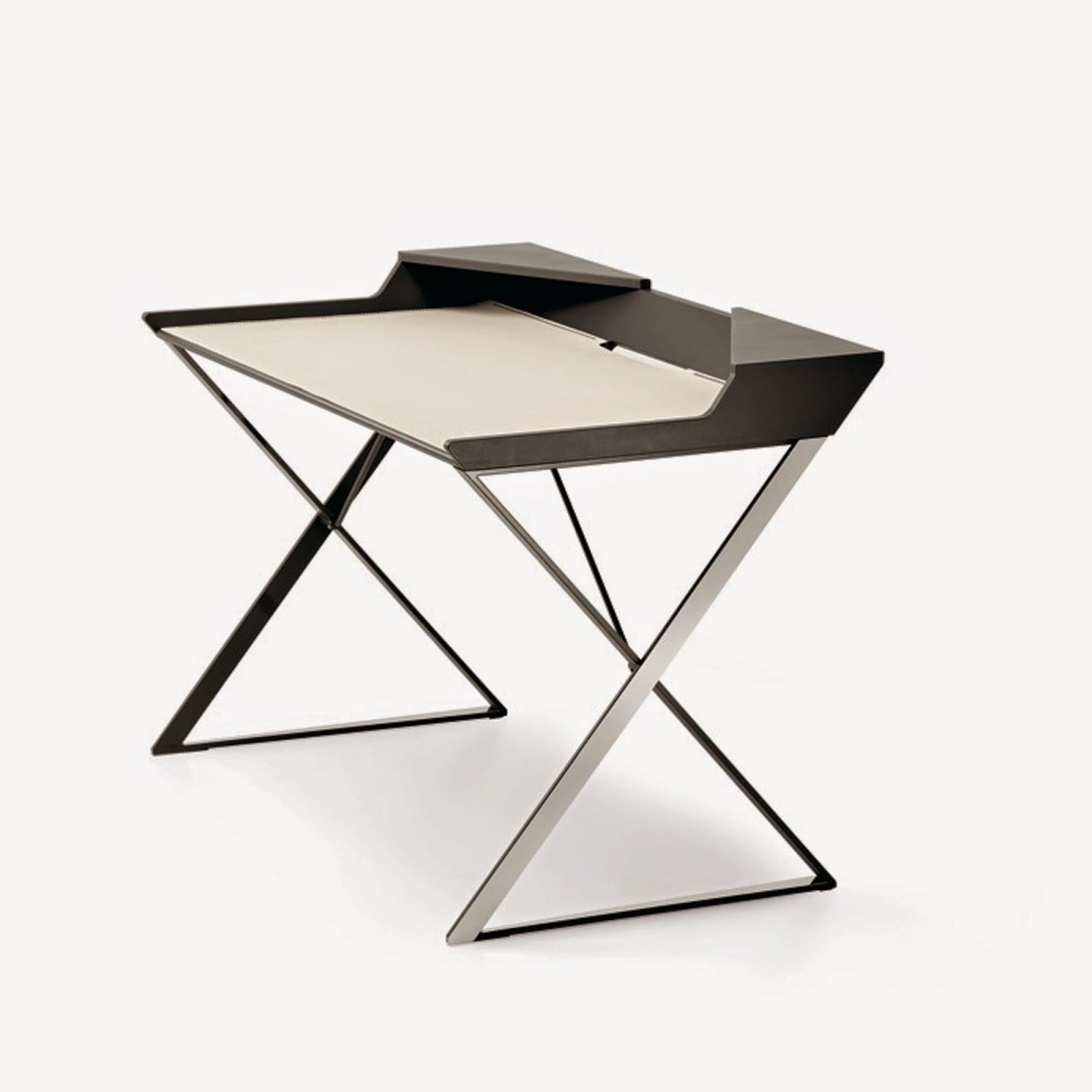 writing desk qwerty cattelan italia italian furniture. Black Bedroom Furniture Sets. Home Design Ideas