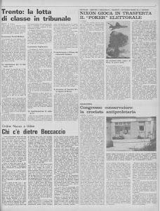LOTTA CONTINUA 13 OTTOBRE 1972