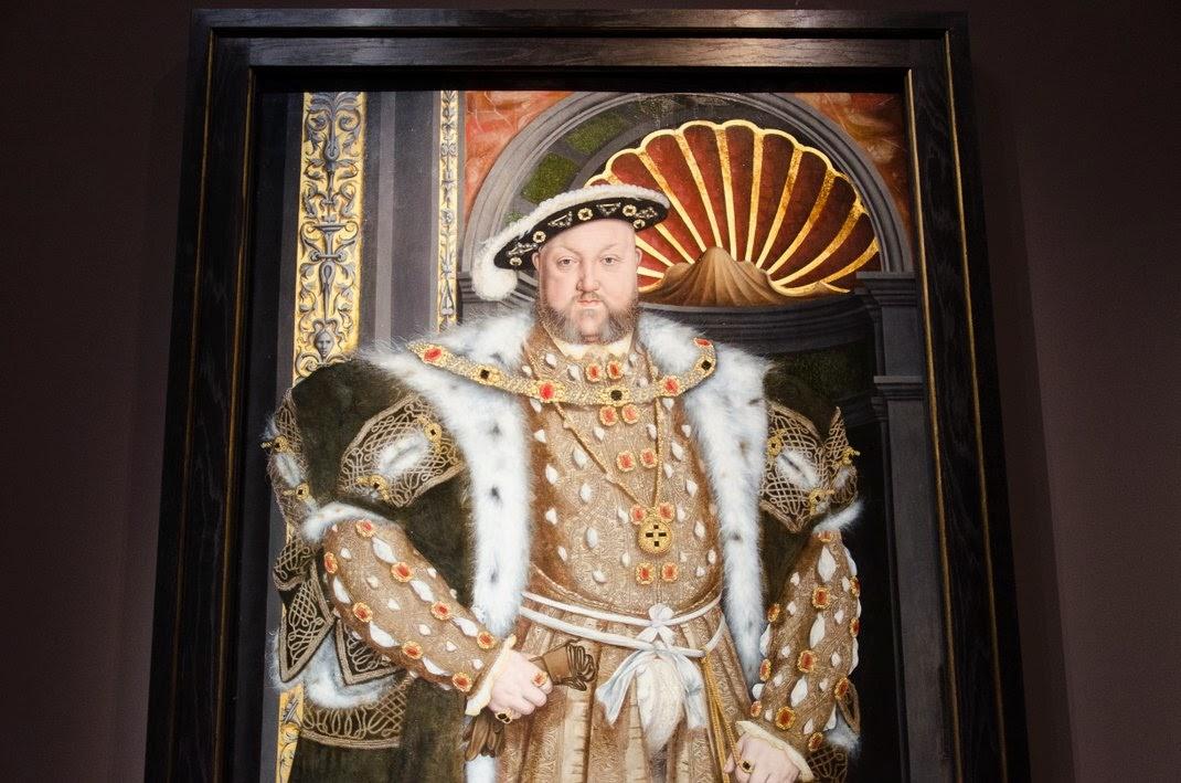 Musée du Luxembourg - Les Tudors - Henr VIII
