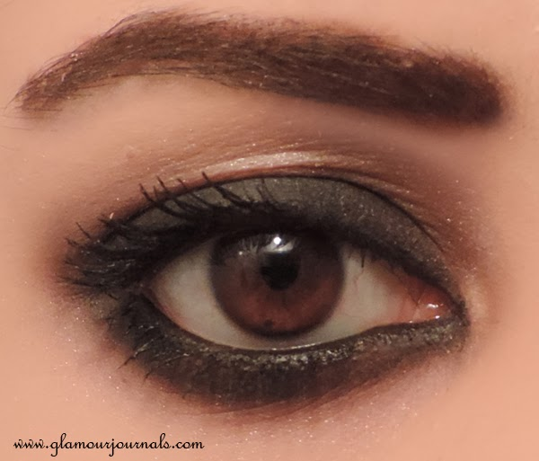 Maybelline Color Tattoo in Audacious Asphalt in India | Review, Prices, Ingredients, EOTD, FOTD
